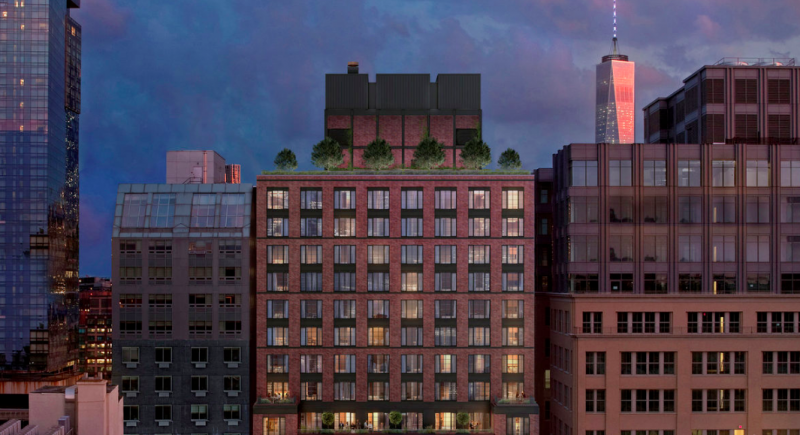 Apartments for sale at 70 Charlton Street in NYC