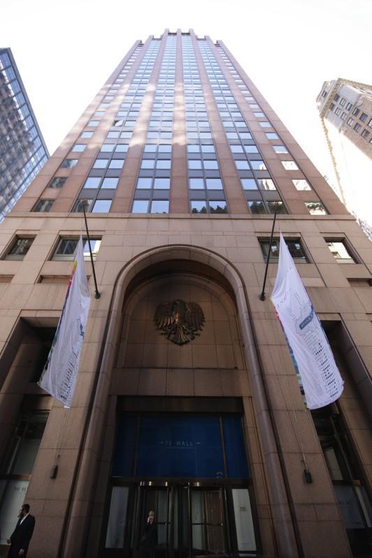 75 Wall Street entrance - New Construction Manhattan