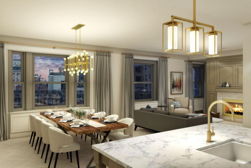 Condos for sale at 78 Irving Place in Manhattan - Living Area