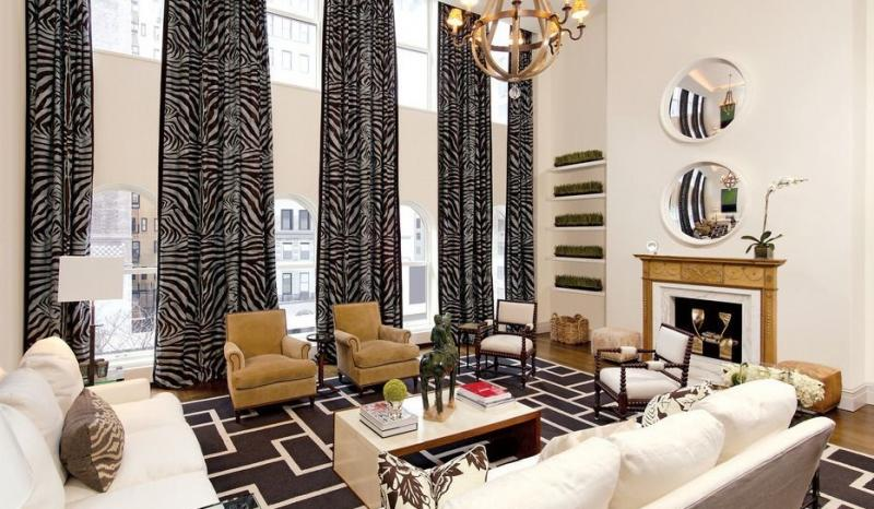 Living Room at 807 Park Avenue in NYC - Condos for sale
