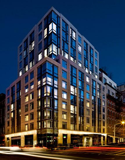 Facade - Smith Upstairs - Luxury Condos - Tribeca