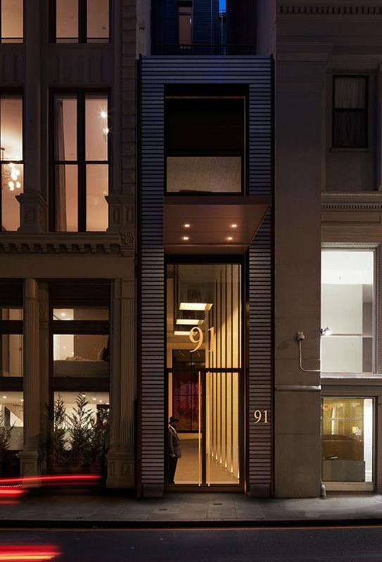 Condos for sale at 91 Leonard Street in Tribeca - Entrance