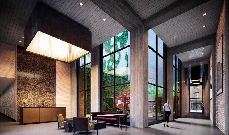 Apartments for sale at 91 Leonard Street in NYC - Lobby