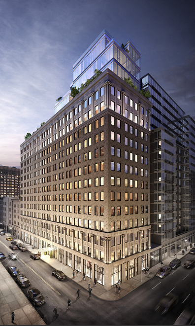 Front facing view of 93 Worth in Tribeca - NYC Condos for sale