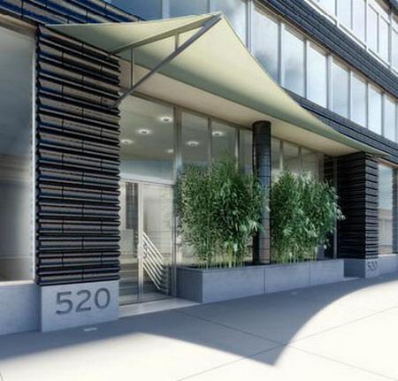 520 West Chelsea Entrance - Chelsea NYC Condominiums