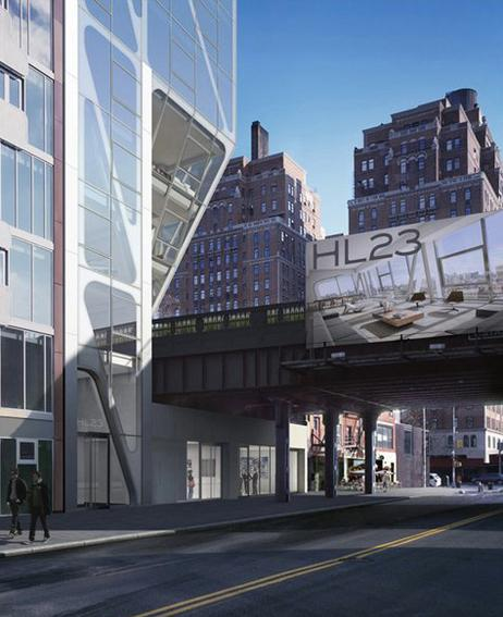 HL23 Entrance - Chelsea NYC Condominiums