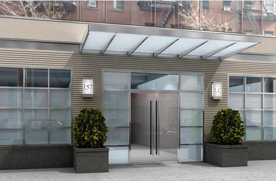 The Legacy Entrance - Upper West Side NYC Condominiums