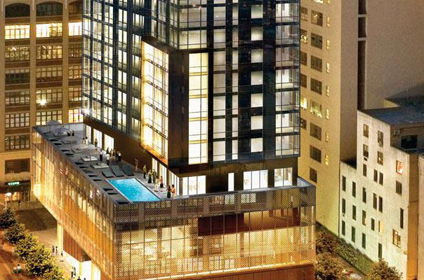 246 Spring Street Exterior - Soho NYC Condominiums
