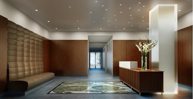 Linden 78 Lobby - Upper West Side NYC Condominiums