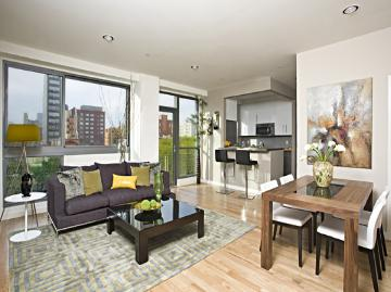 38 Delancey Street Living Room – Manhattan Condos for Sale