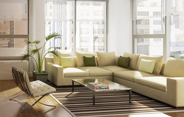 Gramercy 19 Living Room – Manhattan Condos for Sale