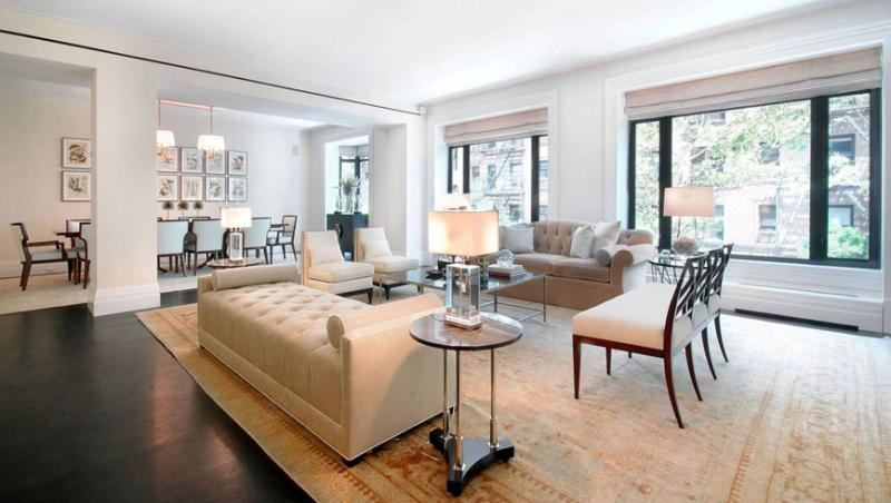 180 East 93rd Street Living Room - Manhattan Condos for Sale