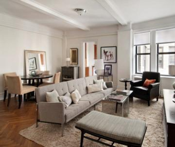 220 West 93rd Street Living Room - Upper West Side NYC Condominiums
