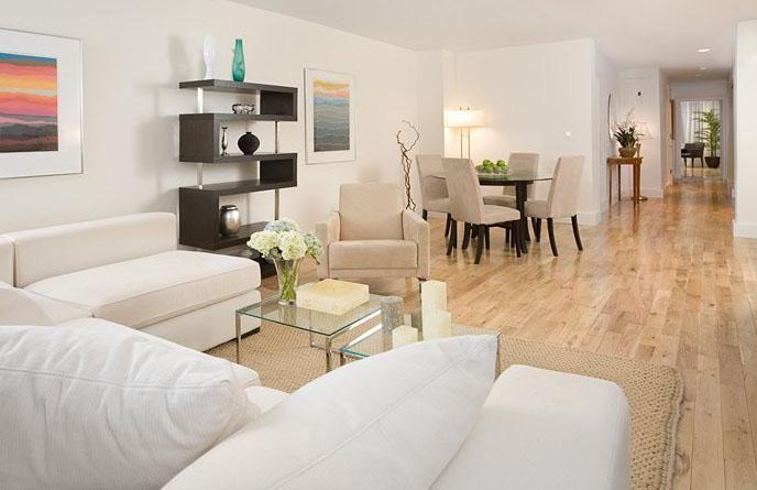 The New Yorker Condominium Living Room - Upper East Side NYC Condominiums