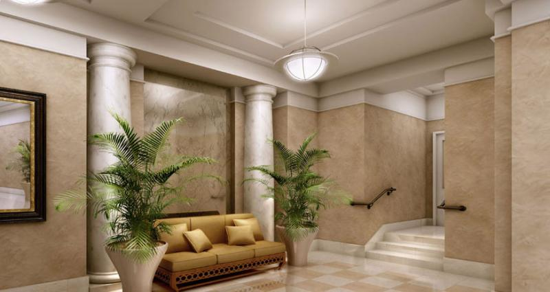 180 East 93rd Street Lobby - Upper East Side NYC Condominiums