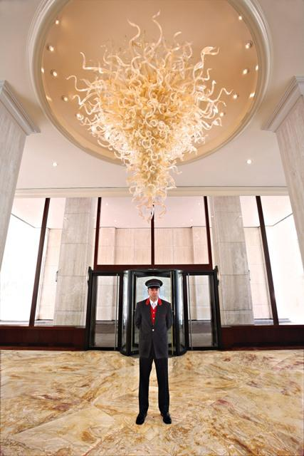 30 Lincoln Plaza Lobby - Upper West Side NYC Condominiums