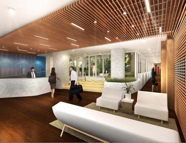 Griffin Court Lobby – Manhattan Condos for Sale