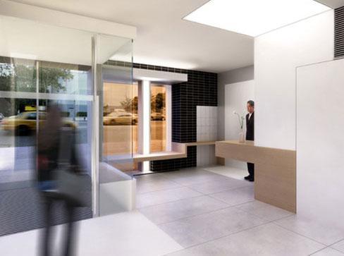 Modern 23 Lobby - Chelsea NYC Condominiums