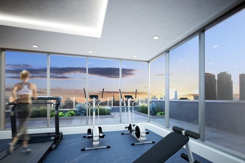 Fitness Center at Liv@ Murray Park North in NYC