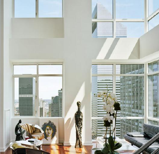 Park Avenue Place Living Room - Manhattan Condos for Sale