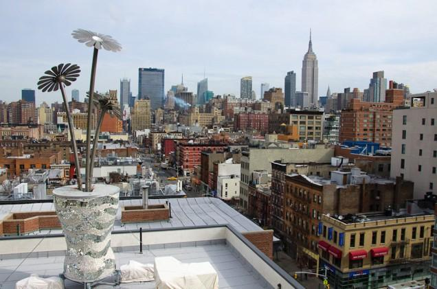 305 West 16th Street Roof Deck - Chelsea NYC Condominiums
