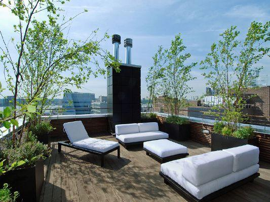 459 West 18th Street Roof Deck - Chelsea NYC Condominiums