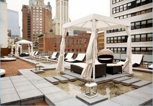 111 Fulton Street Rooftop Deck Terrace – Manhattan New Condos
