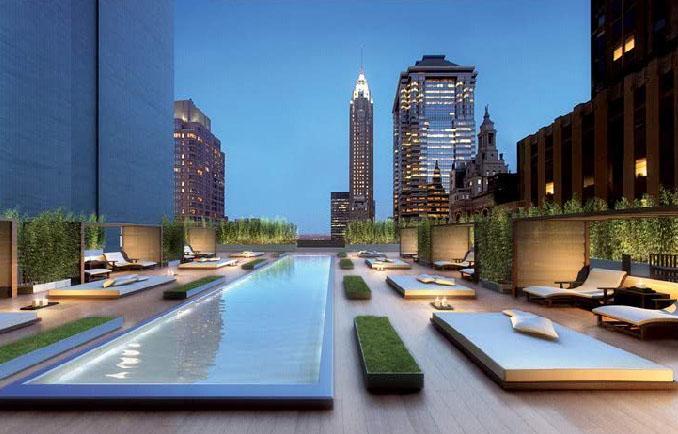 20 Pine Terrace Lounge - Manhattan Condos for Sale