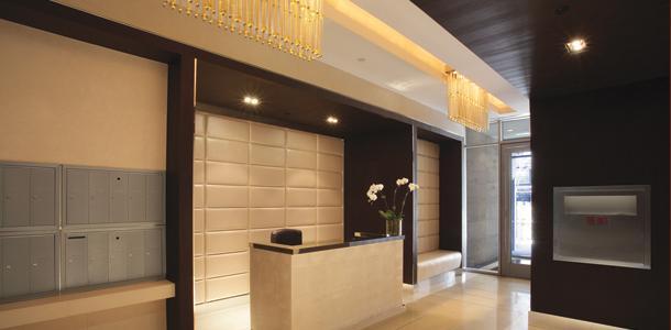 The Harsen House Lobby - Manhattan Condos for Sale