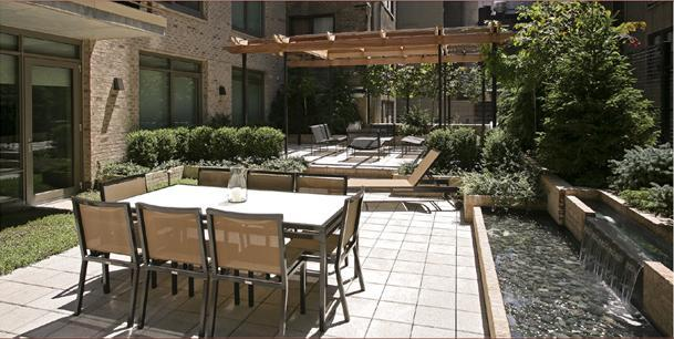 The Harsen House Terrace - Upper West Side NYC Condominiums