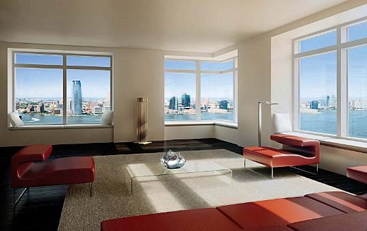 W New York Downtown 123 Washington Street Financial District Condos For Sale