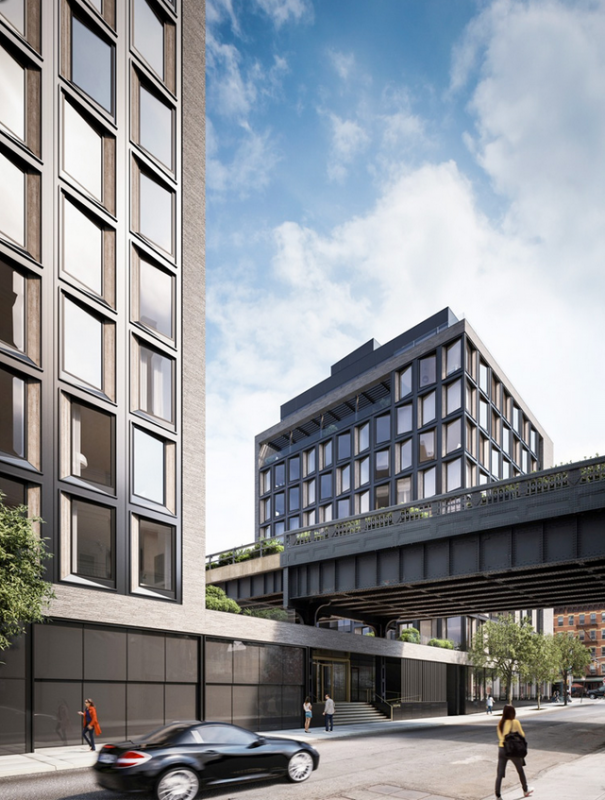 Exterior-505 West 19th Street Condominiums Apartments for Sale in Chelsea