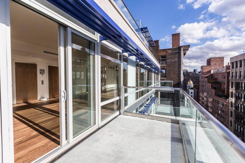 Balcony - Chelsea Green 151 West 21st Street - Manhattan New Construction