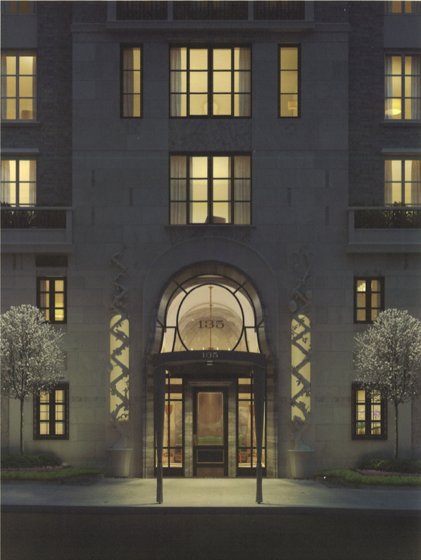 Building Entrace at 135 East 79th Street - Luxury Condominiums for Sale
