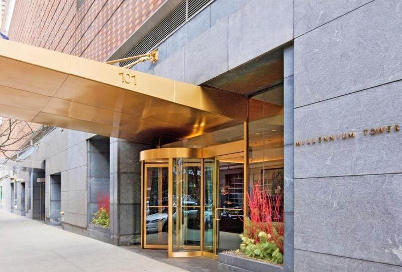 ... Building Entrance   Millennium Tower   NYC Apartments For Sale