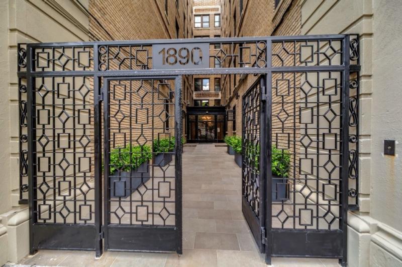 Entrance- The Strathmore- 1890 Adam Clayton Powell Boulevard- condo for sale
