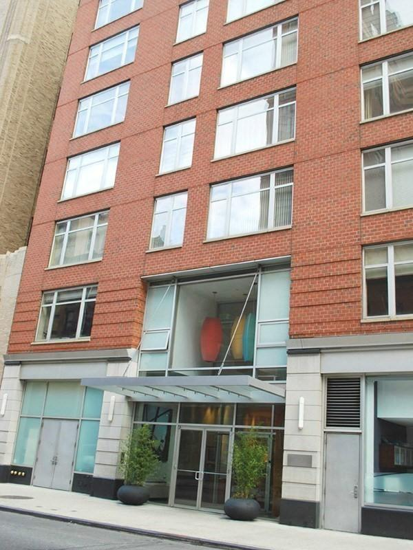 The Building's entry at 201 West 17th Street in Chelsea