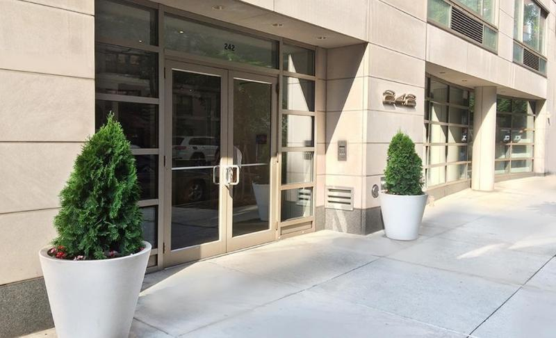 The Building's entry at 242 East 25th Street