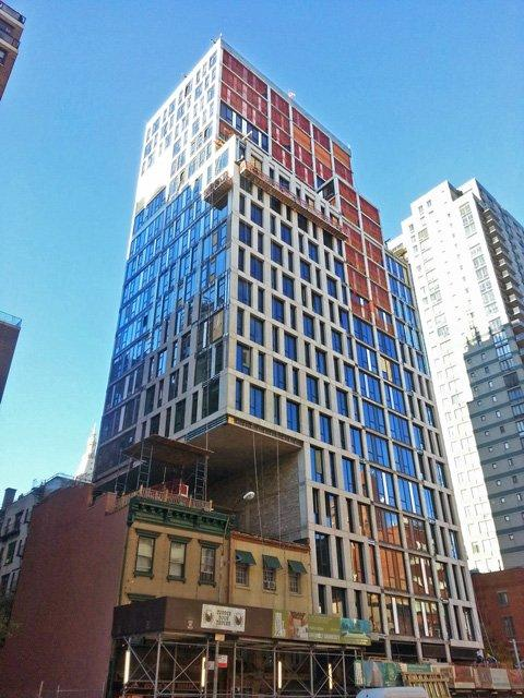 Exterior 160 East 22d Street - NYC Condos for Sale