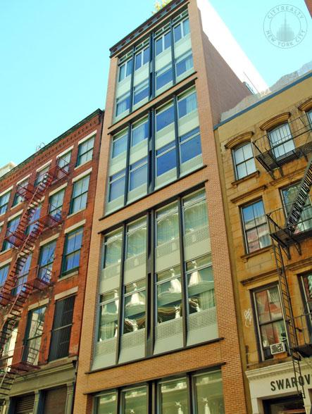 Exterior - 72 Mercer Street - Soho - Condominium For Sale