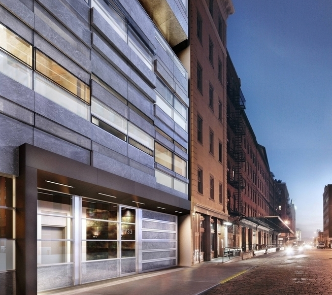 Exterior - 33 Vestry Street - Tribeca - Condominium For Sale