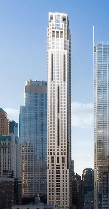 Four Seasons Hotel - Manhattan Condos - Building