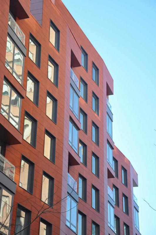 Hudson Hill Outside - New Construction Manhattan