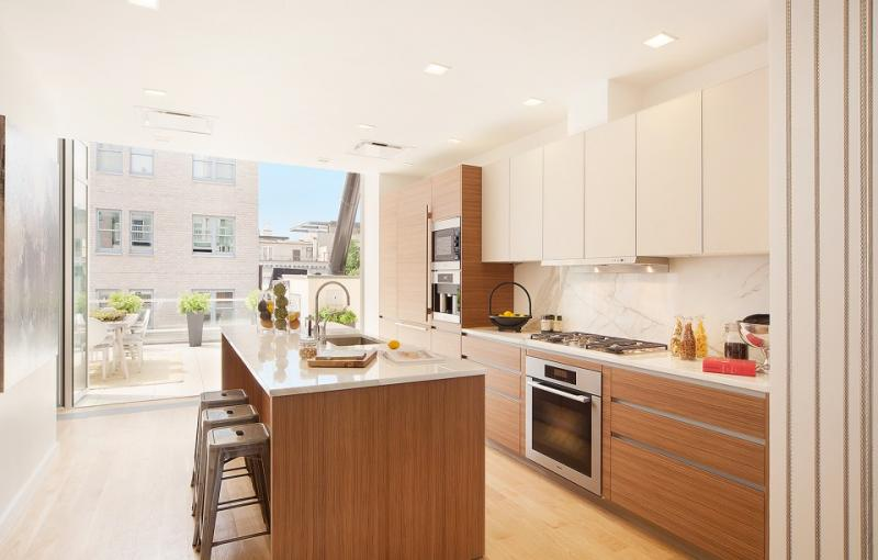 111 Mercer Penthouse Kitchen - Apartments for Sale in New York