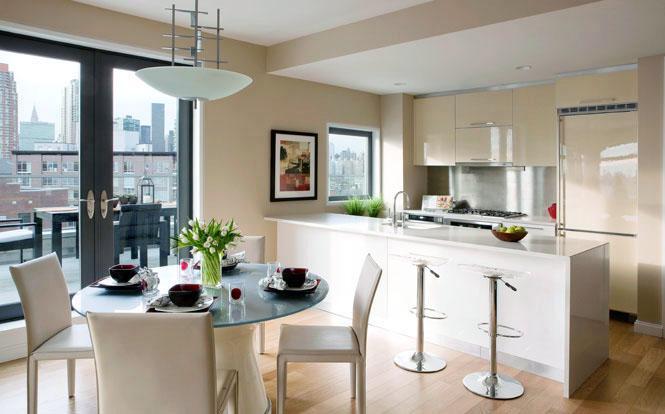 L Haus Kitchen - Long Island City Condos for Sale