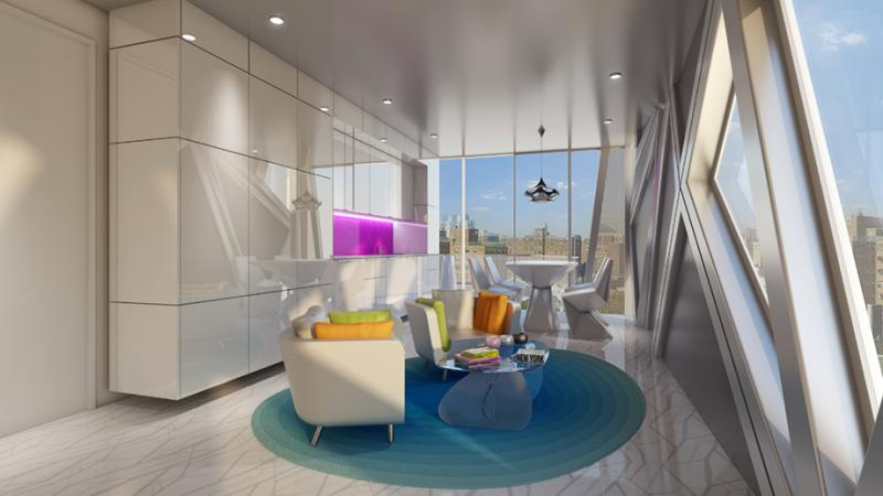 Living Room - 1655 Madison Avenue - Apartments - Upper East Side