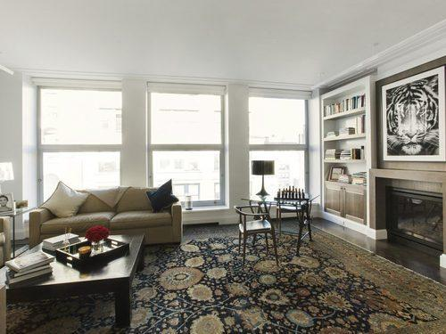 Living room- 16 west 21 street- condos for sale in nyc