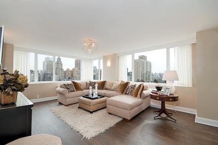 Living Room - 45 West 67th Street - Manhattan Luxury Condos