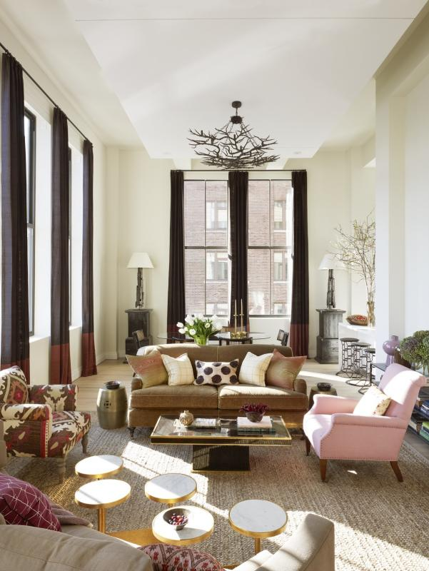 Printing House Condos for Sale in Hudson Street - Living Room
