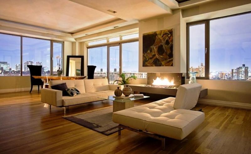 Livingroom at 240 East 10th Street in NYC